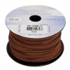 Faux Suede Lacing 50m Brown